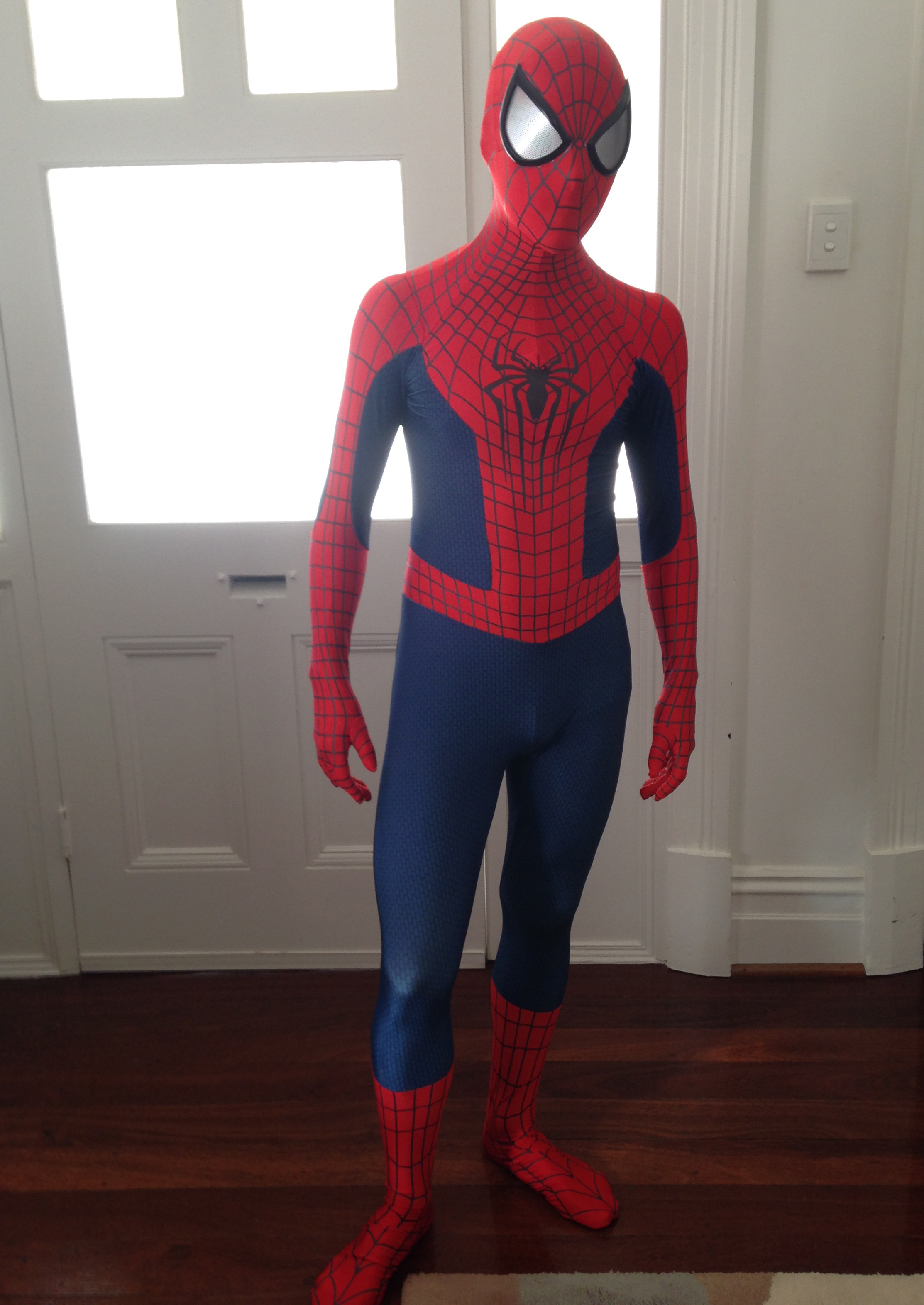 Amazing Spiderman Costumes Halloween Sexy 16081208