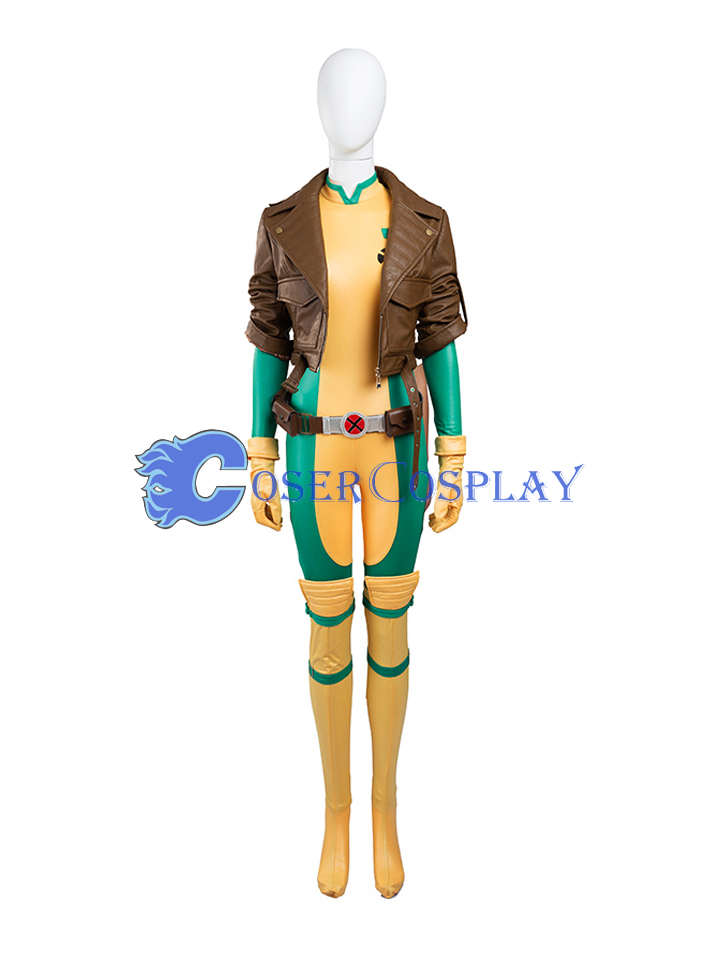 Anna Marie Rogue Cosplay Costume With Jacket