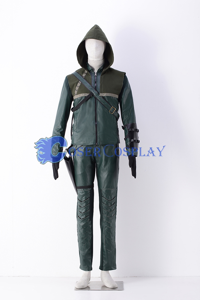 Arrow Oliver Queen Halloween Cosplay Costume