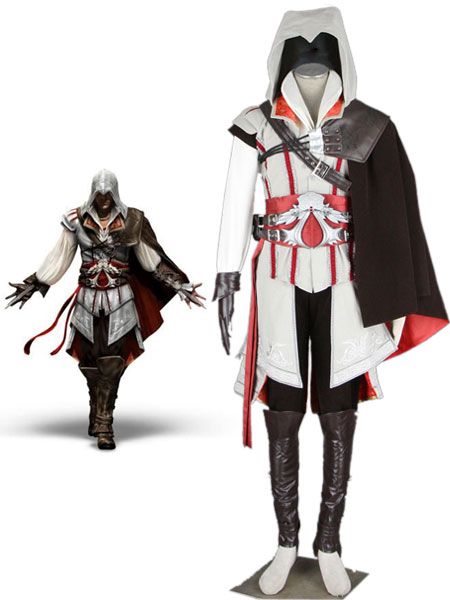 Assassin's Creed Ezio Autitore da Firenze Cosplay Costume