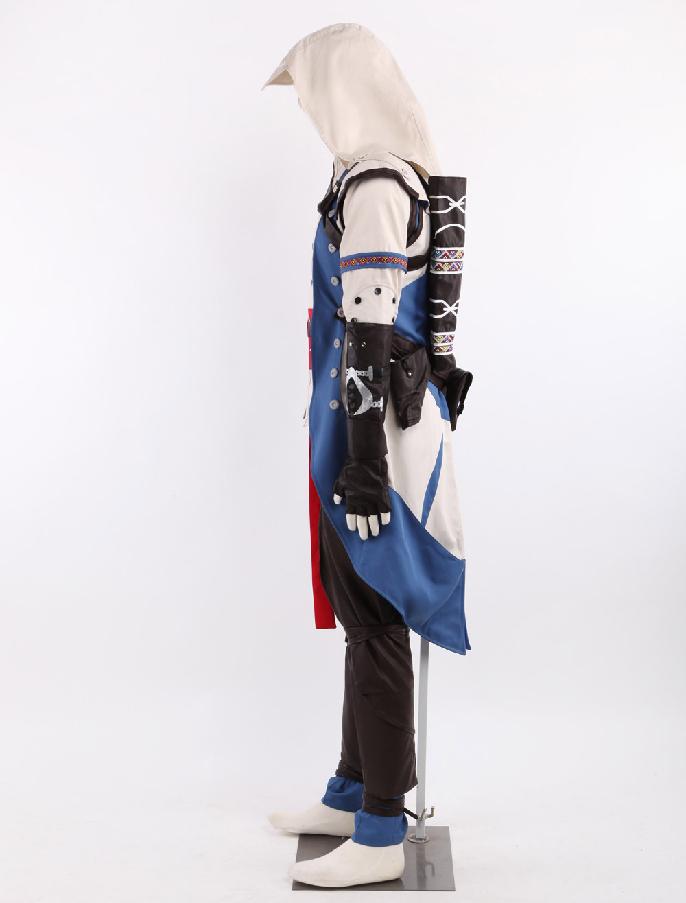 Assassin's Creed III Connor Assassin Uniform Cosplay Costume
