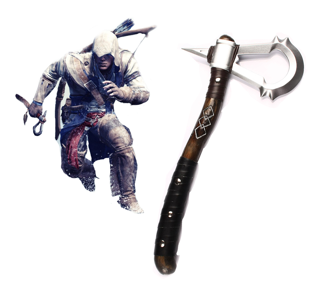 Assassin's Creed III Connor Tomahawk Cosplay Weapons