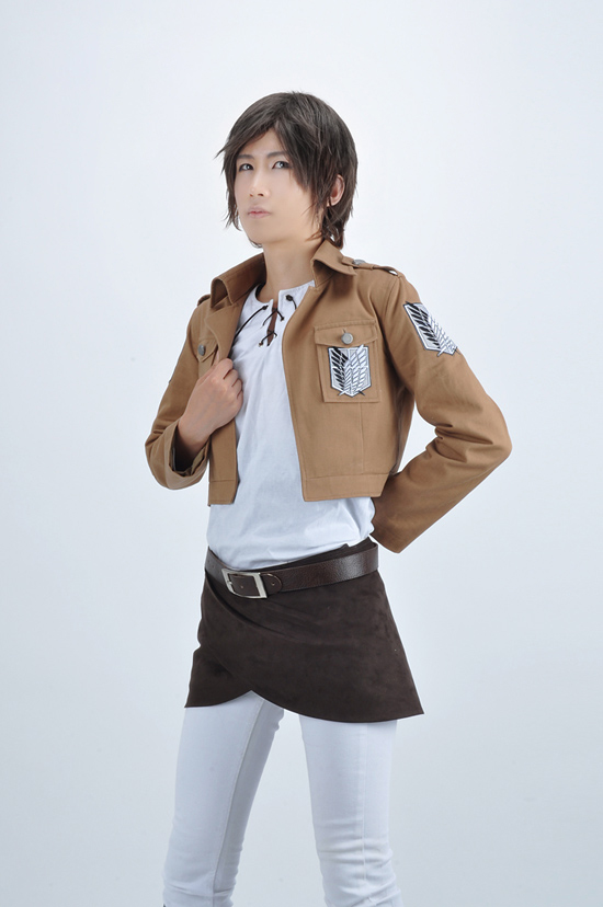 Attack on Titan Eren Jaeger The Recon Corps Uniform ...