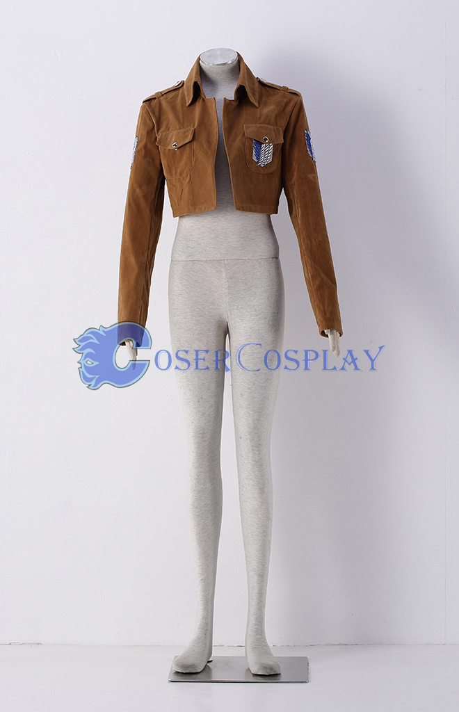 Attack on Titan Eren Jaeger Trainee Class Cosplay Costume