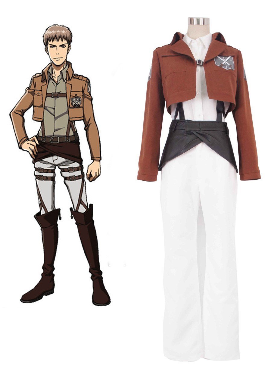 Attack on Titan Trainee Class Boy's Uniform Cosplay Costume