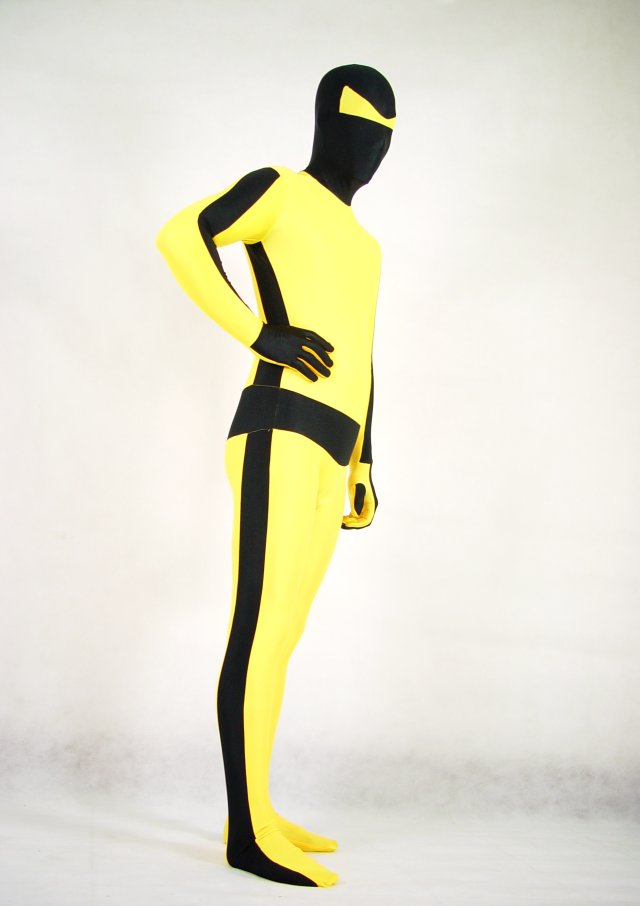 BRUCE LEE Halloween Costumes Zentai Suit