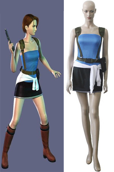 Baiohazado Resident Evil Apocalypse Jill Valentine Cosplay Costumes