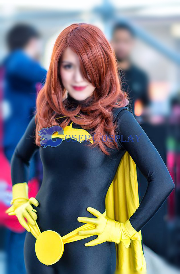Batgirl Cosplay Costume Black Catsuit