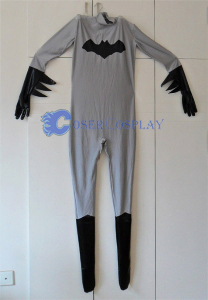 Batman Catsuit Halloween Costumes Grey