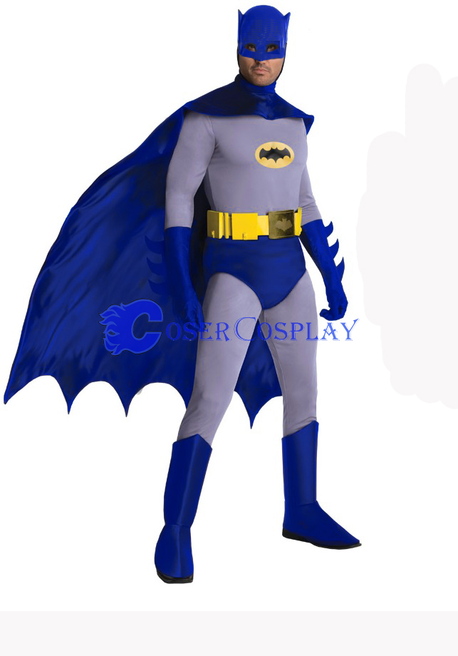 Batman Cosplay Costume Blue