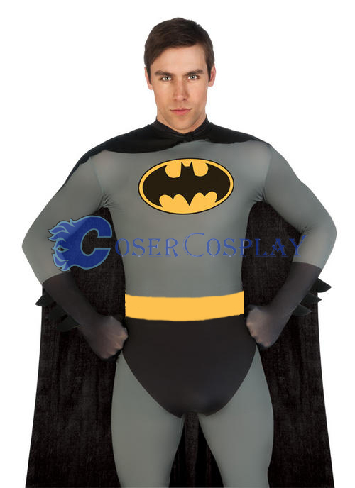 Batman Cosplay Costume Catsuit