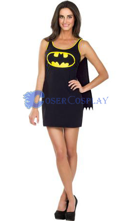 Batman Cosplay Costume Dress