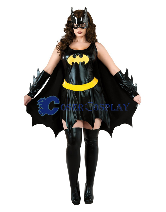 Batman Cosplay Costume Halloween Dress