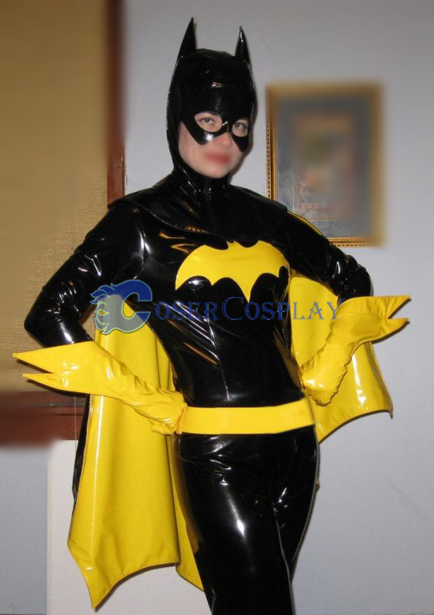 Batman Cosplay Costume PVC Catsuit