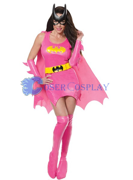 Batman Cosplay Costume Pink Girl