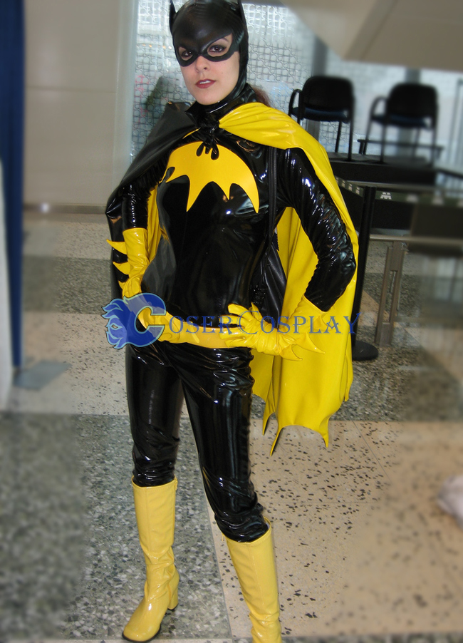 Batman Cosplay Costume Pvc Girl