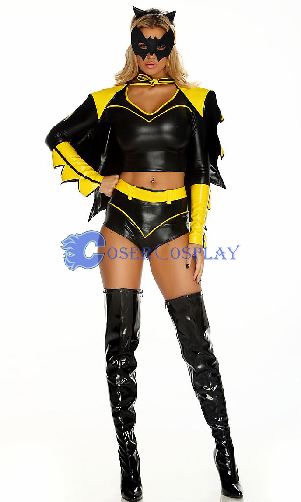 Batman Cosplay Costume Sexy Halloween Girl