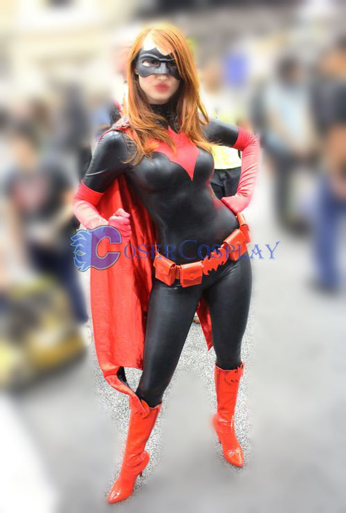 Batman Cosplay Costume Shiny Spandex