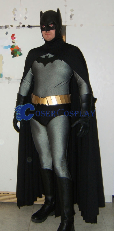 Batman Cosplay Costume With Cape