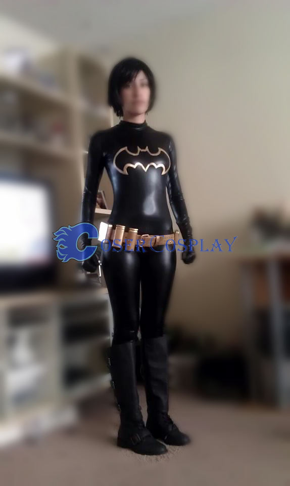 Batman Cosplay Costume Women Catsuit