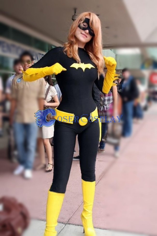 Batman Costume Batgirl Black Catsuit