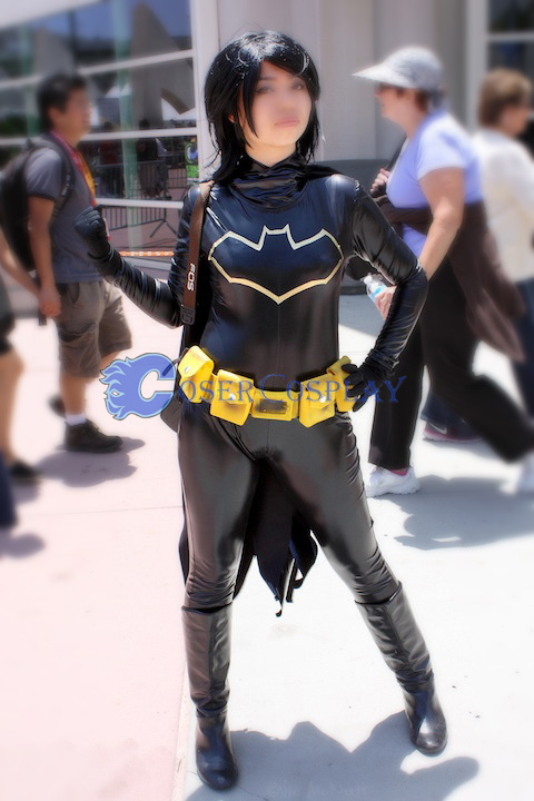 Batman Costume Batgirl Black Suit
