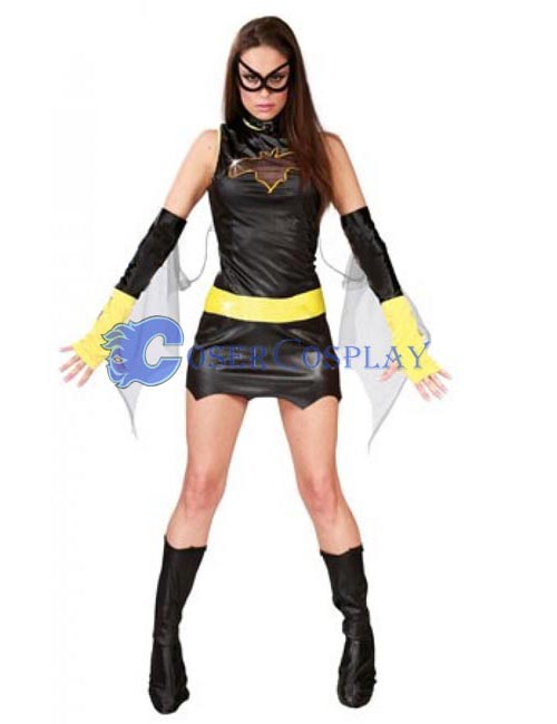 Batman Costume Batgirl Dress
