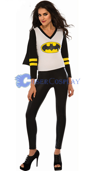 Batman Costume Batgirl Halloween Party