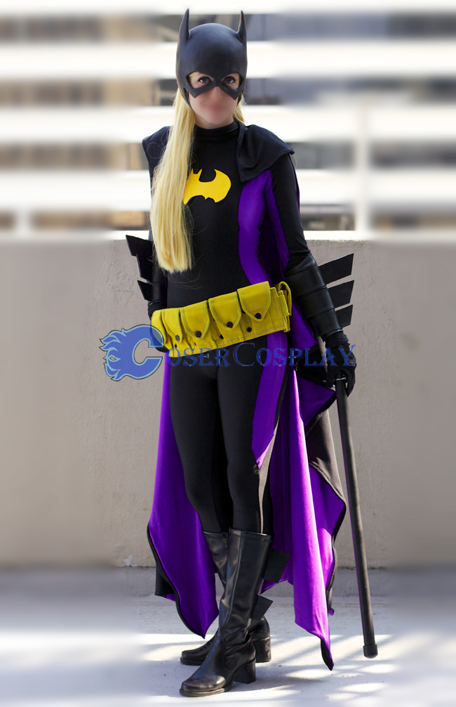 Batman Costume Batgirl Halloween Suits