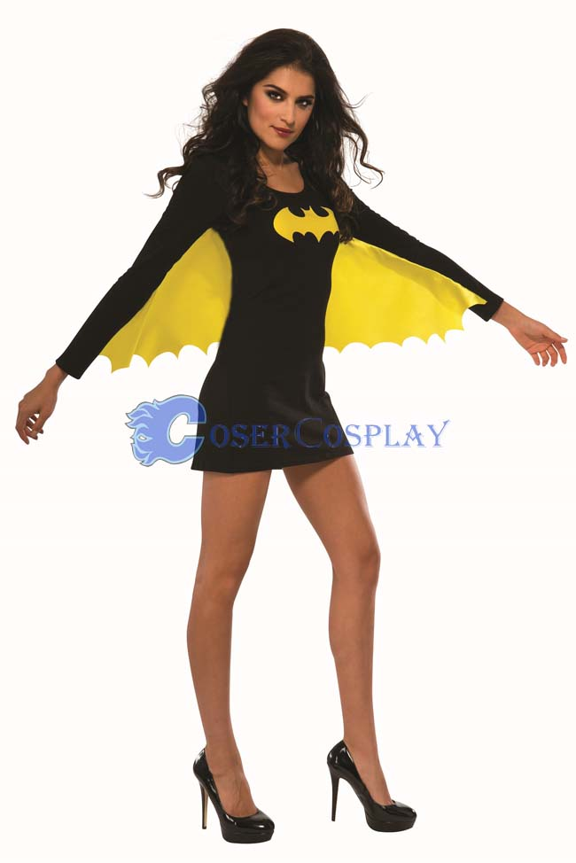 Batman Costume Batgirl Wing Dress