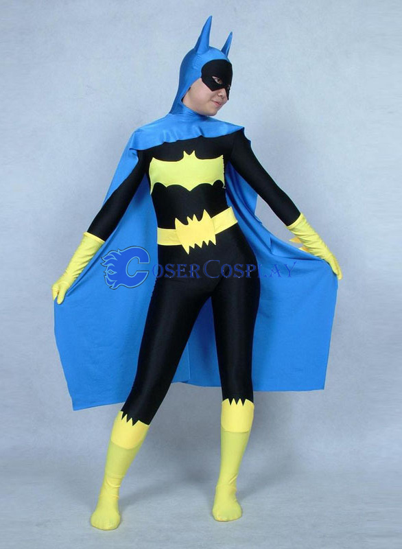 Batman Costume Sexy Batgirl Blue