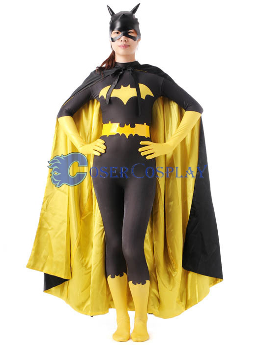 Batman Halloween Costume For Women Yellow