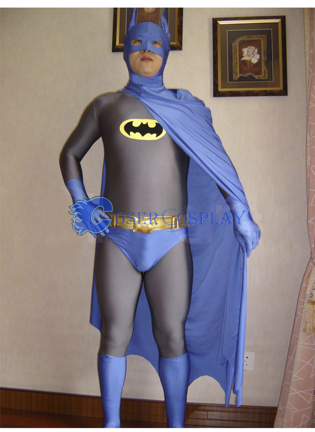 Batman Halloween Costume Grey