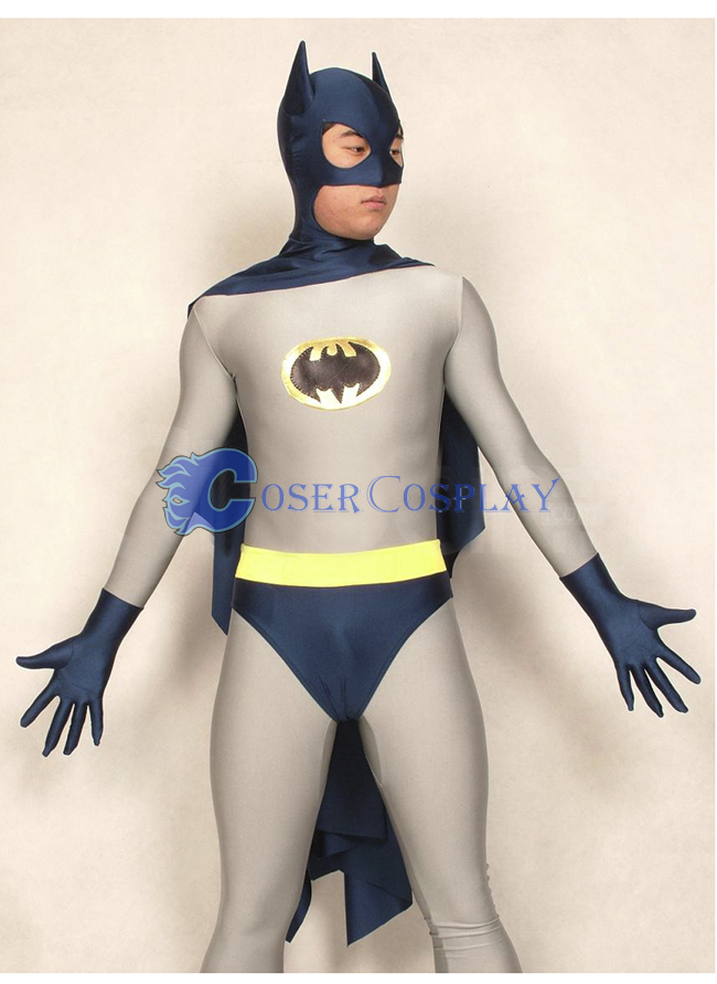 Batman Halloween Costume Light Grey