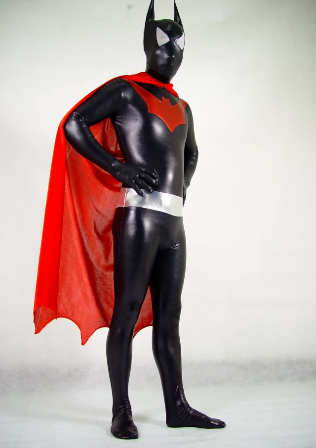 Batman Halloween Costume Zentai Suit