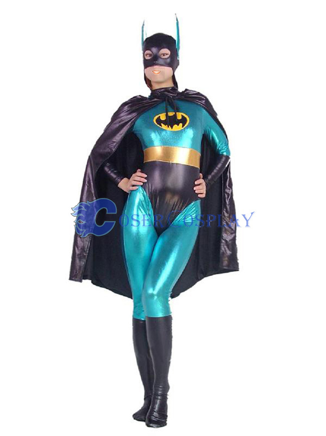 Batman Zentai For Women Blue