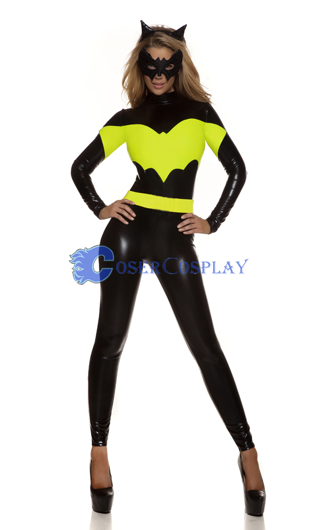 Black Batman Girl Catsuit