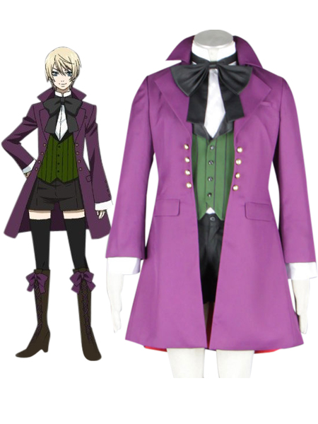 Black Butler Kuroshitsuji Alois Trancy Boy Lolita Suit Cosplay Costume