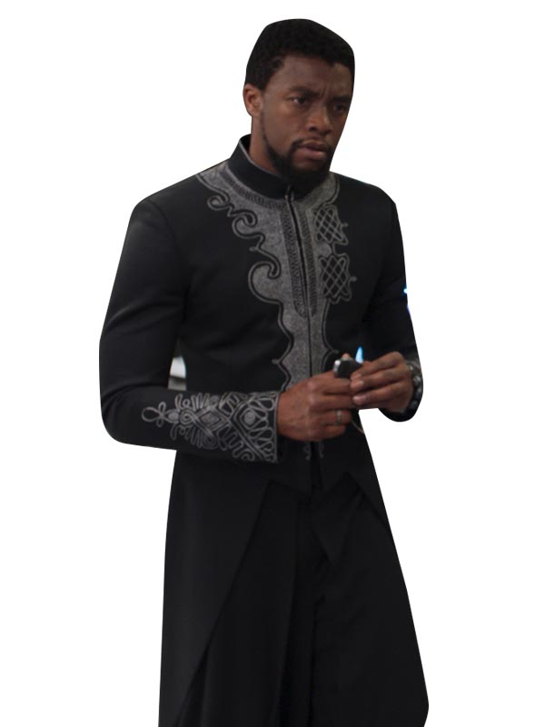 Black Panther Cosplay Coat Halloween