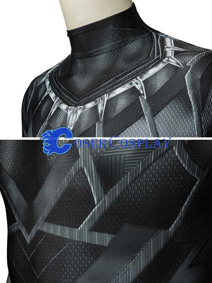 Black Panther Cosplay Costume Bodysuit Halloween
