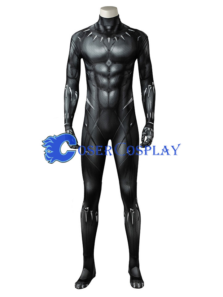 Black Panther Cosplay Costume Catsuit Halloween