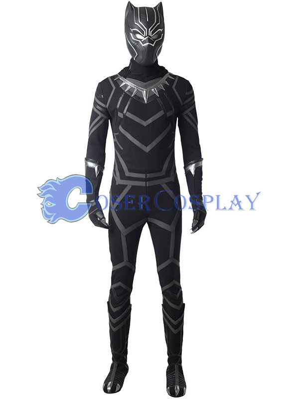 Black Panther Cosplay Costume Halloween 2018