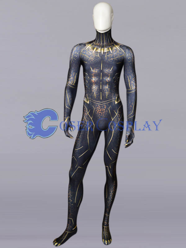 Black Panther Cosplay Costume Halloween Party