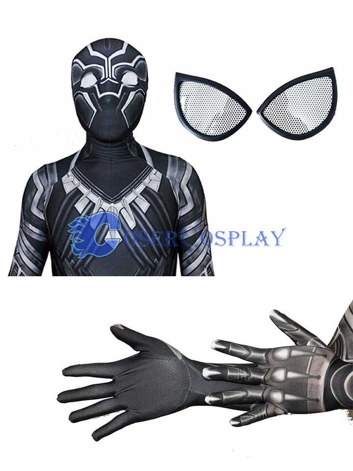 Black Panther Zentai For Halloween Costume Ideas