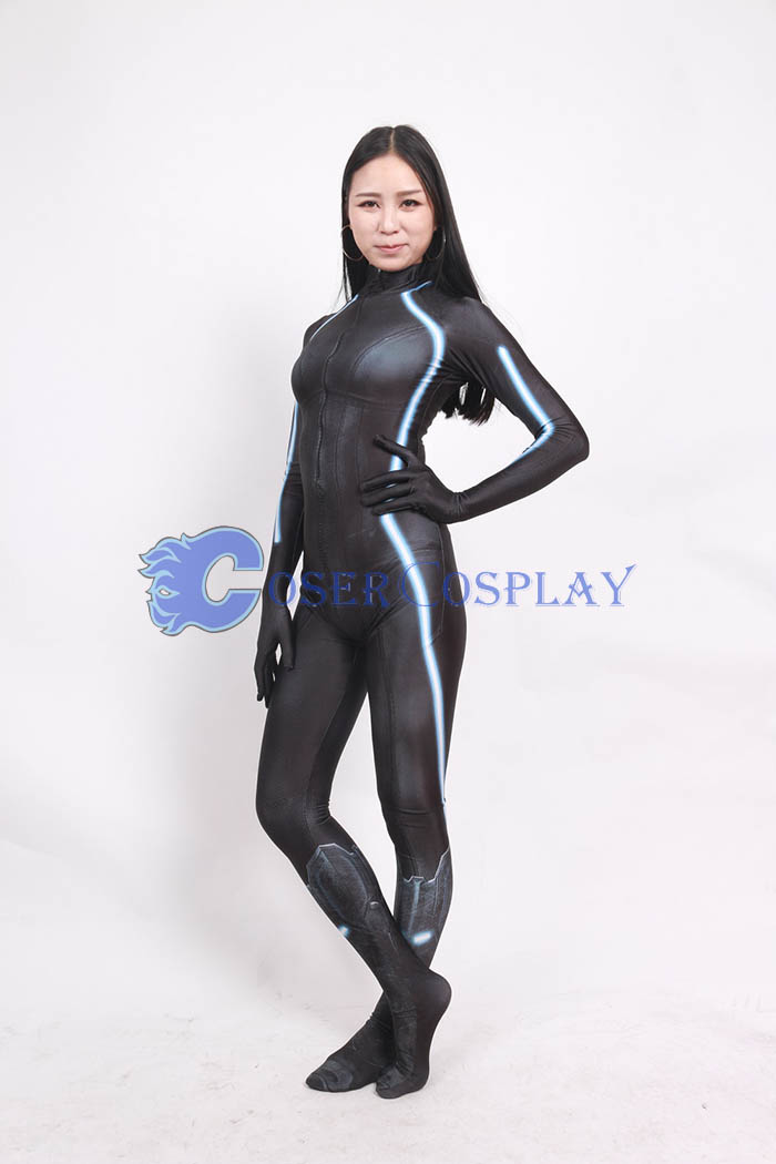 Black Widow Cosplay Costume Sexy Catsuit