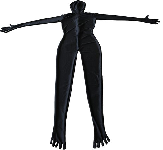 Black Zentai Suit With Toes