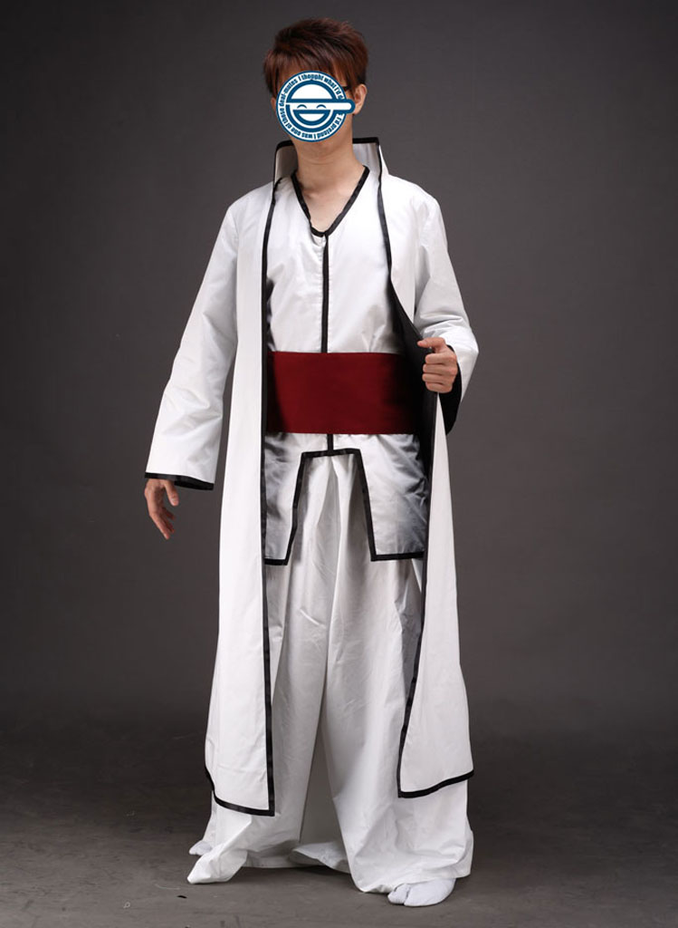 Bleach Aizen Sousuke Hollow World Hueco Mundo Kimono Uniform Cosplay Costumes