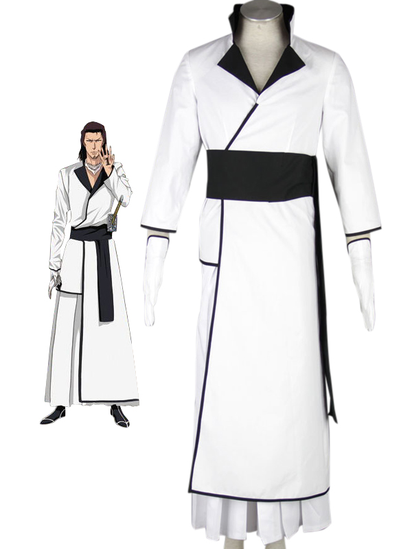 Bleach Coyote Starrk White Kimono Cosplay Costume