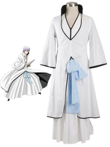 Bleach Gin Ichimaru Hollow World Hueco Mundo Kimono Uniform Cosplay Costumes