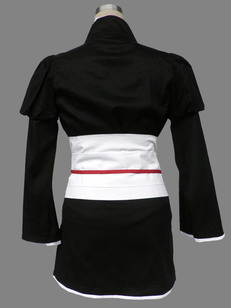 Bleach Gotei Thirteen Nemu Kurotsuchi Lieutenant of the 12th Division Soul Reaper Kimono Cosplay Costumes